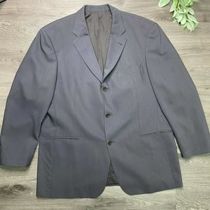 BOSS Hugo Boss | sz 44R gray virgin wool suit coat